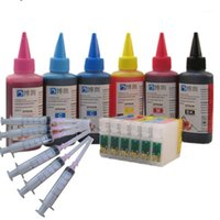 Kartuschen-Nachfüllung Tintensatz für Stylus R270 R290 R295 R290 R615 RX590 RX610 RX690 PO 1410 T50 T59 TX650 TX659 Drucker1 Kartuschen