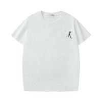 Nouvelle vente chaude Hommes Femmes T-shirts Fashion Summer Sleeve Sleeve Classic Designer Vêtements Unisexe Casual T-shirt C133
