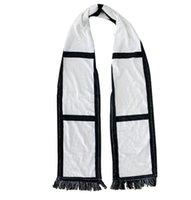فارغة التسامي الصوف وشاح منقوشة شرابات الشتاء الحمم الحرارية والأوشحة نقل الحرارة الشرابة وشاح الأبيض الأسود منقوشة والأوشحة GGA3842