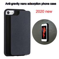 Anti-yerçekimi Nano Adsorpsiyon Yeni Tasarımcı Telefon Kılıfı Için iphone 12 Pro Durumda 11 Pro Max Samsung Galaxy Note 20 Ultra S10 S20