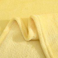Cálidas Fleece Fleece Mantas SOFT SOLID MUCHAS SÓLIDAS COLECTURA SÓLIDA LLUSCULA DE INVIERNO DE VERANO Manta para el sofá cama HHE4045