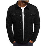 2021 Primavera Autunno Men Basic Jacket Jacket Cappotti Donne Denim Giacche Lettera Stampa Moda Jeans Cappotto Slim Casual Casual Abbigliamento sportivo Giacca sportiva
