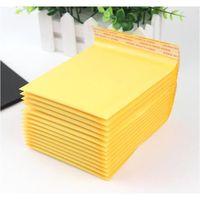Kraft PE Bubble Sacs Mailing Sacs 11x13cm pour chiffons de transport postaux Emballage Pochettes Enveloppe d'adhérence auto-sceau Ajout d'enveloppes Sacs