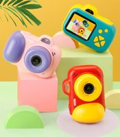 التصوير الفوتوغرافي أعلى جودة الأطفال البسيطة كاميرا لعبة الصور الرقمية كاميرا للأطفال ألعاب تعليمية هدايا عيد الميلاد لعبة طفل لعبة HD KID كاميرات
