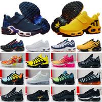 Nike Mercurial Air Max Plus Tn Yeni Çocuklar Artı Tn Çocuk Ebeveyn Çocuk Rahat Ayakkabılar Erkek Bebek Kız Moda Tasarımcısı Sneakers Beyaz Koşu Açık Eğitmen Ayakkabı 28-35