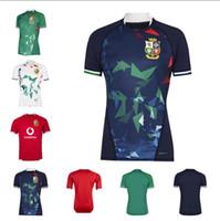 Nuovo 2021 Leoni britanniche e irlandesi di alta qualità Leons International League Jersey Home National Team Lions Lions Gedesia di rugby