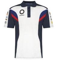 Camiseta de carreras de moto Camisa de polo de motocicleta T Shirt T Shirt de Cross-Couth Camisa de Motocicleta Camisa Cultural Montando Camiseta de solapa de manga corta