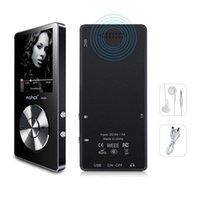 MP4 لاعبين الأصلي المعادن مشغل MP3 ضياع موسيقى مركبتي مع جودة عالية الصوت خارج المتكلم راديو FM ساعة (أسود)