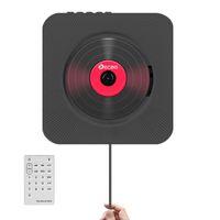 Портативный CD Bluetooth-плеер Настенный монтируемый домашний Audio Boombox Speaker Preanatal с дистанционным управлением FM Radio USB Repeater LJ201016