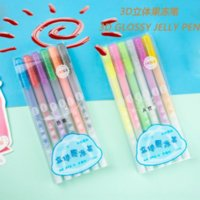 Byvp Colin 890 Stéréo Fluorescent Diydiy Pen DIY Main Painting Graffiti Compte Student Creative Creative Jelly Stylo