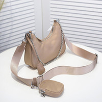 قماش هوبو للنساء حقيبة الكتف حزمة الصدر سيدة حمل سلاسل حقائب اليد pressbyop
