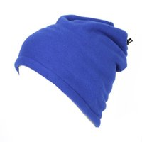 NEW Winter Warm Hat and Scarf Fleece Hat Multifunctional Sof...