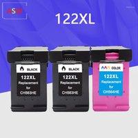 Cartuccia d'inchiostro 122XL Compatibile per 122 XL 122 Deskjet 1000 1050 2000 2050 2050S 3000 3050A 3052A 3054 1010 1510 Printer1