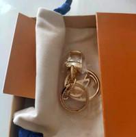 Alta Qualidade Moda Mulher Mans Chaveiros Alta Qualtiy Liga Fashionable Handmade Keychain Liga Elegante Chave Buckle com caixa