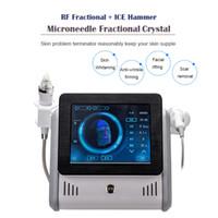 Mikro İğne Güzellik Makinesi RF Radyo Frekansı Kesirli Mikronedle Cilt Gençleştirme Mikroneedling Kesir Yüz Bakım Ekipmanları