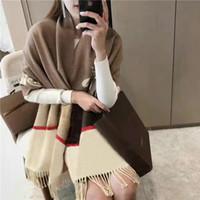 Haute Qualité 2020 mode automne et hiver de la marque Silk Silk Echarpes Timeless Classic, super longues longues foulards de soie féminine de la mode châle