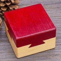 descifrado juguete de madera misterio de madera rompecabezas quema descompresión luban bloqueo de bloqueo con cerebro para jugar con plástico