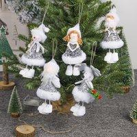 Presente de Natal Angel Doll Toy Plush Ângulo Snowman Dolls pingente Merry Xmas Ornamentos Crianças Ano Novo