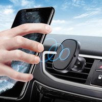 Lovebay Air Vent Mount Car Phone Holder Stand Magnetic Plastic GPS Mobile Phone Universal Stand for Huawei