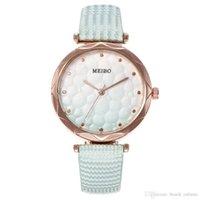 2020 New Women Moda Orologi di moda Gradation PU Cuoio cinturino in pelle orologi al quarzo Casual orologi da polso orologio da donna vestito da polso orologio orologio accessori