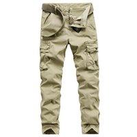 Мужские джинсы 2021 мужской большой размер хлопчатобумажные повседневные брюки маленькие ноги многокаркарм тонкий комбинезон молодежные наружные брюки