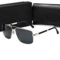 أعلى جودة نظارات شمسية موضة جديدة للنساء مصمم فاخر نظارات الشمس المتضخم نظارات شمسية الرياضة الرجعية نظارات uv400 عدسات مربع وقضية