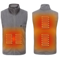 Winter USB Heated Vest Men Women Washable Adjustable Heating...