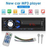 Автомобиль Audio 12V SWM-1044 Одноместный 1DIN Стерео MP3-плеер Радио FM AUX TF Card U Дисковая Головка Автомобильный Цифровая носитель Media1
