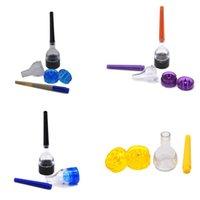 Ручной шлифовальный инструмент для шлифовальных инструментов Multi цветов акриловая цилиндр сигарета дробилка ручной рулонные дымовые дробления 3 5GL L2