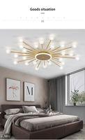Led Ceiling Chandelier lamps LivingRoom Bedroom Home light Ball Glass Shade Modern Lamp Lighting Chandeliers
