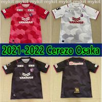Japão 2021 Cerezo Osaka Jersey 2022 J1 Home Away 3ª Camisa de Futebol Terceiro Camiseta Futbol 21 22 Maillot de Pé