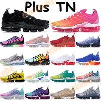 2020 Hommes TN plus chaussures de course USA active fuchsia triple noir blanc rouge rose mer jeu royal blanchi aqua shark baskets chaussures