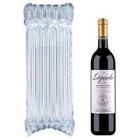 DHL SF Express 32 * 8cm Bolsa de dunnaje de aire Air llenado Botella de vino de vino envoltura inflable de la columna de la columna de la columna de la columna con un libre