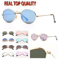Mens Mode Sonnenbrille Männer Frauen Sonnenglas Oval Sonnenbrille G15 Glaslinsen Heißer Verkauf Mode Zubehör Für Damen Weihnachtsgeschenke