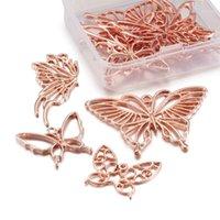 Pandahall 10 pçs / caixa borboleta mega pets pingentes de liga de pet® aberta bezia para diy resina uv epóxi resina jewlery making1
