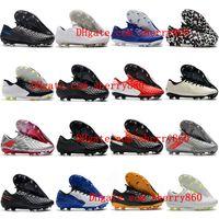 2021 Мужские футбольные туфли Tiempo Legend 8 Elite FG Clears Открытые Футбольные Ботинки Качество Скарпе Da Calcio