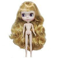 دمية BJD / SD أزياء لطيف اللوني الراتنج دمى فتاة هدية عيد الانفجارات مع مائل يمكن تخصيص لون الشعر