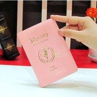Capa de Passaporte Mulheres Homens Pu Couro Capa no Passaporte ID de Crédito Holderbrand Unisex Travel Holder Holder H Jllcyk