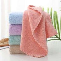Multi Colors Coral Absorbent Toalla Soft Piel Cuidado Buena Ventilación Easy Deck Ducha Toallas Cara Toalla Nueva Llegada 2 35JL L2