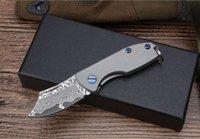 Yeni Şam Katlanır Hediye Bıçağı Şam Blade Hediye BoxTitanium Kolu Anahtar Tokaları EDC Araçları Ücretsiz Kargo Toplam Boy 16.5 cm