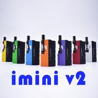100% original IMINI V2 ICARTS KIT com cartuchos de 0.5 / 1.0ml pré-aquecer bateria Mod Fit Liberty V1 V9 V14 AC1003 VISÃO Spinner DHL GRÁTIS