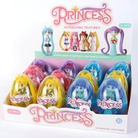 Новая красивая девушка кукла мультфильм игрушки для яичной скорлупы 6 смешанные пакетные принцессы витая яйца на продажу