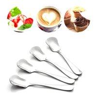 AIHOGARD 1 ADET Yüksek Kalite Paslanmaz Çelik Kahve Çay Karıştırma Kaşık Buz Tatlı Kaşık Meyve Kek Çatal Mutfak Sofra H SQCQMY