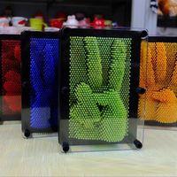 Kinderspielzeug Handwerk 3D Klon Fingerabdruck Nadel Malerei Neuheit Lustige Antistress Spiele Gadgets Witze Streich Gag Spielzeug Für Kinder Y200428