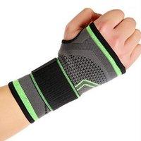 Handgelenkstütze ZXZ elastisch einstellbar Armbandhandschuhe Sports Guard Atmungsaktive Sweat Bandage Protect Drop1
