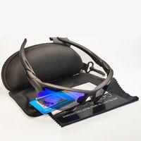 Хороший курс поляризованный цикл солнцезащитные очки на открытом воздухе велосипедные очки для езды на велосипеде Бийки Спортивные езды очки UV400 с корпусом