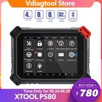 XTool PS80 Professional OBD2 Automotive Full System Ferramenta de Diagnóstico de ECU Codificação PS 80 Atualização Gratuita Online