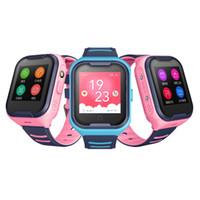 Intelligente Uhr WOMLEX KT11 Smart Watch-Kind GPS-Tracker-SIM-Karte Touchscreen-Kamera-Alarm 4G-Videoanruf wasserdicht
