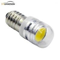Feux d'urgence 1PC E10 COB LED Ampoulement Ampoule 2W ampoules lumineux Indicateur 6V 12V Lampe de signalisation, AVERTISSEMENT