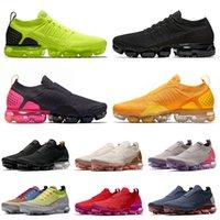 nike air vapormax vapor max flyknit 2020 mayor de calidad superior De punto de zapatos corrientes de voltios gris triples carecen de rosa deporte de los de las mujeres Formadores